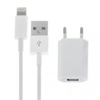 Set de încărcare 2 în 1, pentru dispozitive Apple - adaptor UE şi cablu Lightning