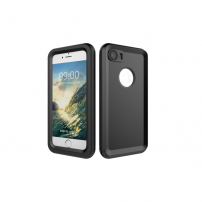 Husă impermeabilă pentru scufundări până la adâncimea de 10 m, pentru iPhone 8 / 7 - negru