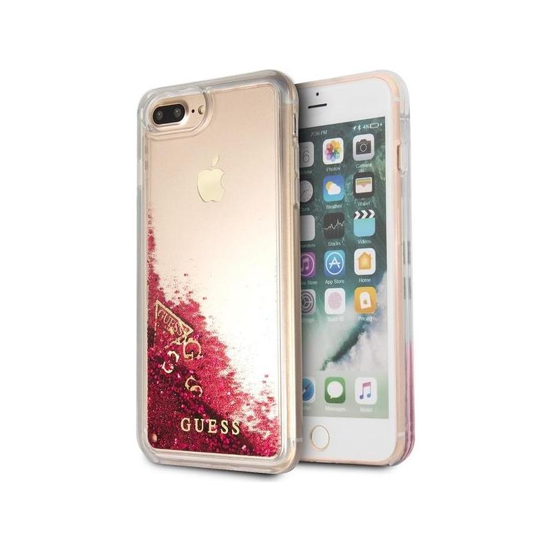 newest b9466 4bc9c Carcasă Guess Liquid Glitter, pentru iPhone 7 Plus / 8 Plus - zmeuriu