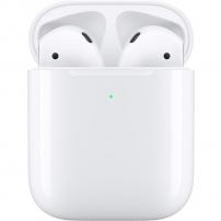 Apple căști wireless cu încărcare wireless Apple AirPods (2019) - alb