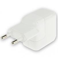 Încărcător / adaptor 10W cu fişă UE (A1401), pentru Apple iPhone / iPad / iPod - alb – calitate TOP