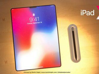 Apple adezvăluit un iPad Pro cu un cran fără rame