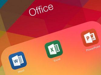 Noul MS Office pentru iOS are un as în mânecă