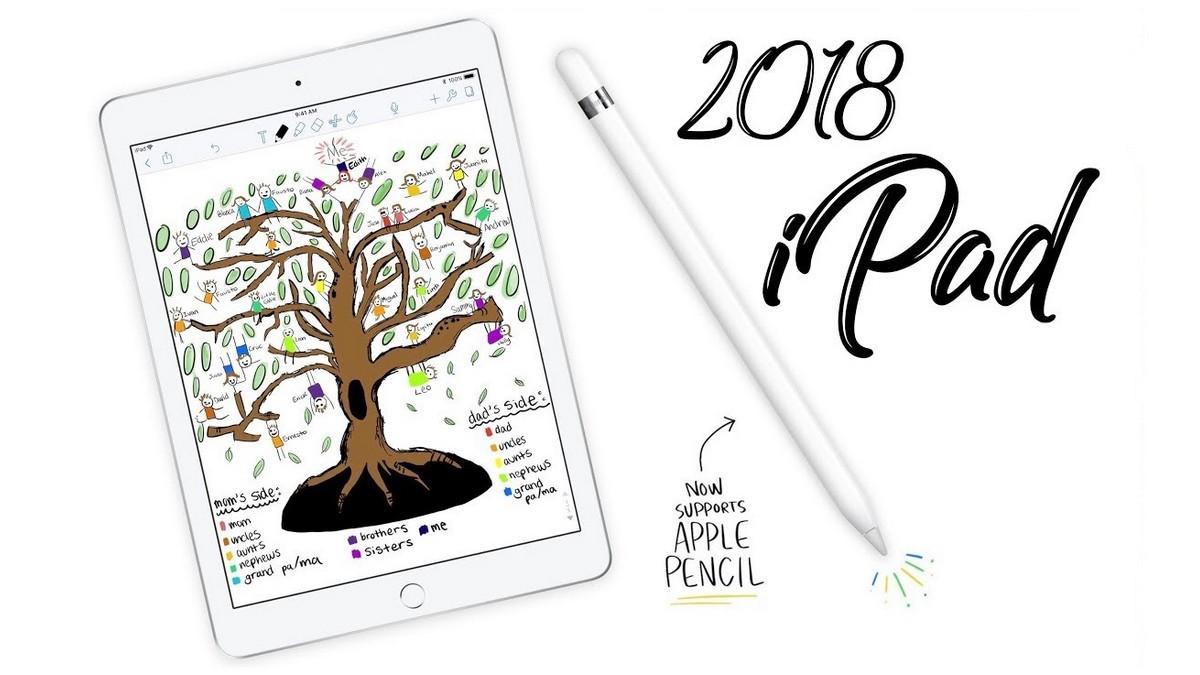 Noul iPad generația a6-a este aici (2018)